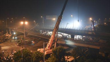 Мост се срути в Китай, има трима загинали (снимки/видео)