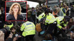 Белгийска принцеса е сред задържаните природозащитници в Лондон