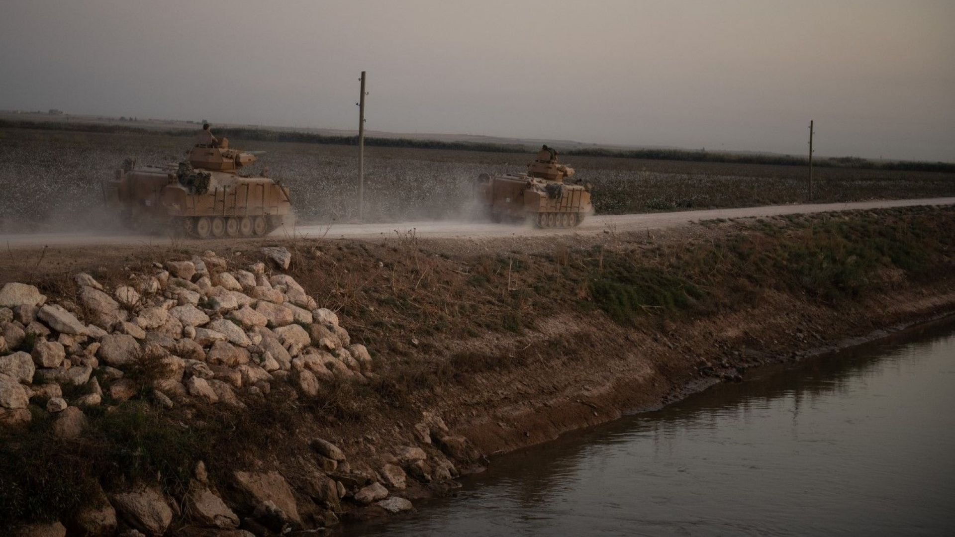 Въоръжените сили на Турция и техните съюзници от Сирийската национална