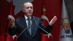 Ердоган: Хора от близкия кръг на Багдади се опитват да дойдат в Турция