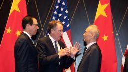 """Китай и САЩ постигнаха """"значителен напредък"""" в търговските преговори"""