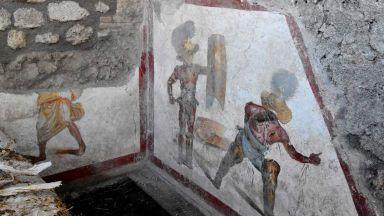 Фреска на биещи се гладиатори бе открита в Помпей