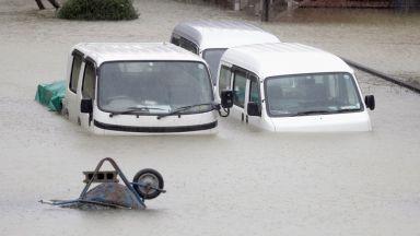 Загинали и ранени по пътя на тайфуна Хагибис към Токио (видео)