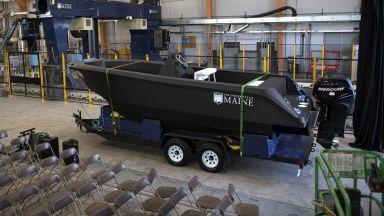 Триизмерен принтер лодка постави 3 рекорда на Гинес