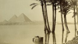 Магнетични снимки разкриват древните чудеса на Египет още през 19-и век