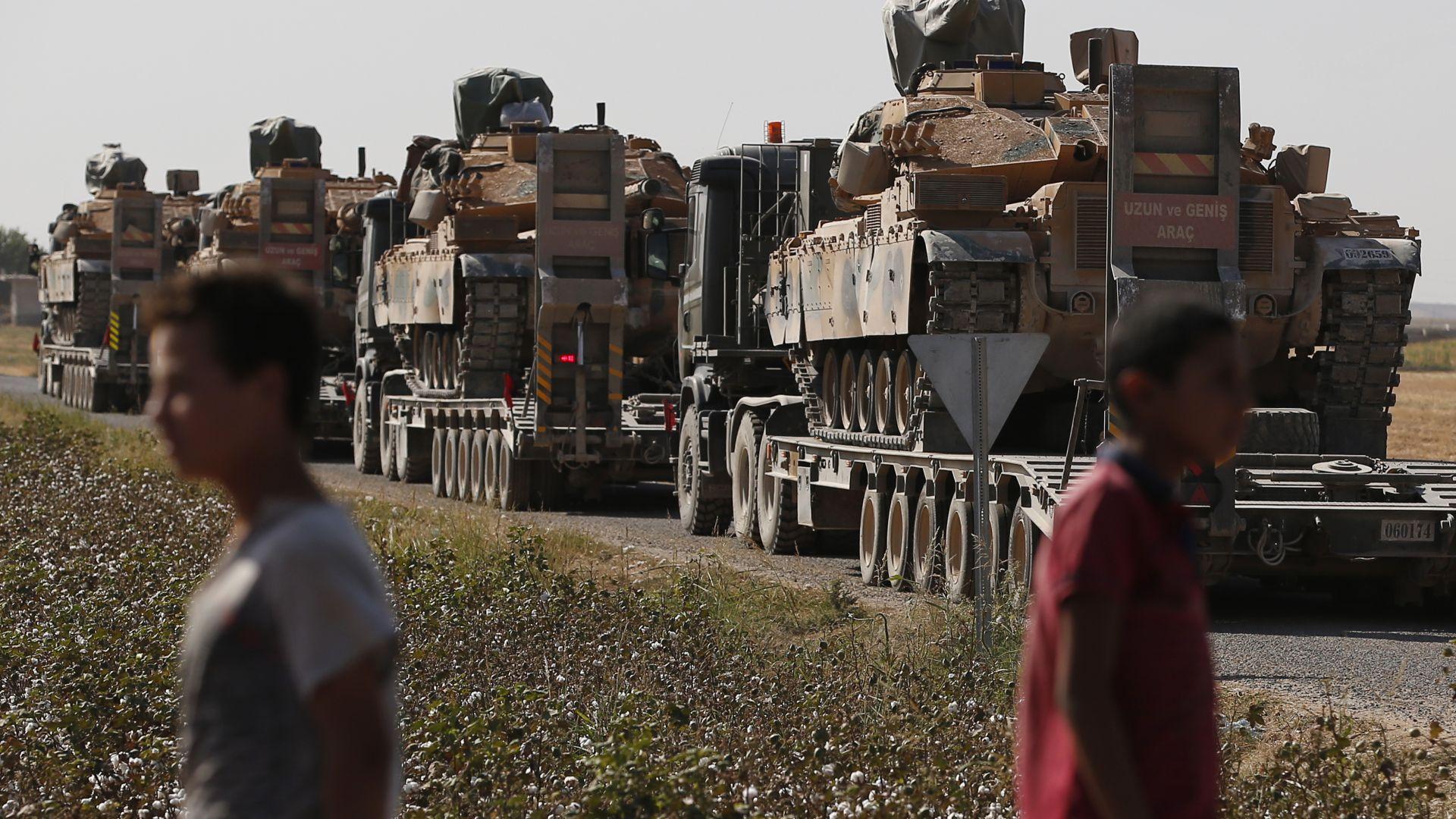 Германия забрани износа на оръжия за Турция