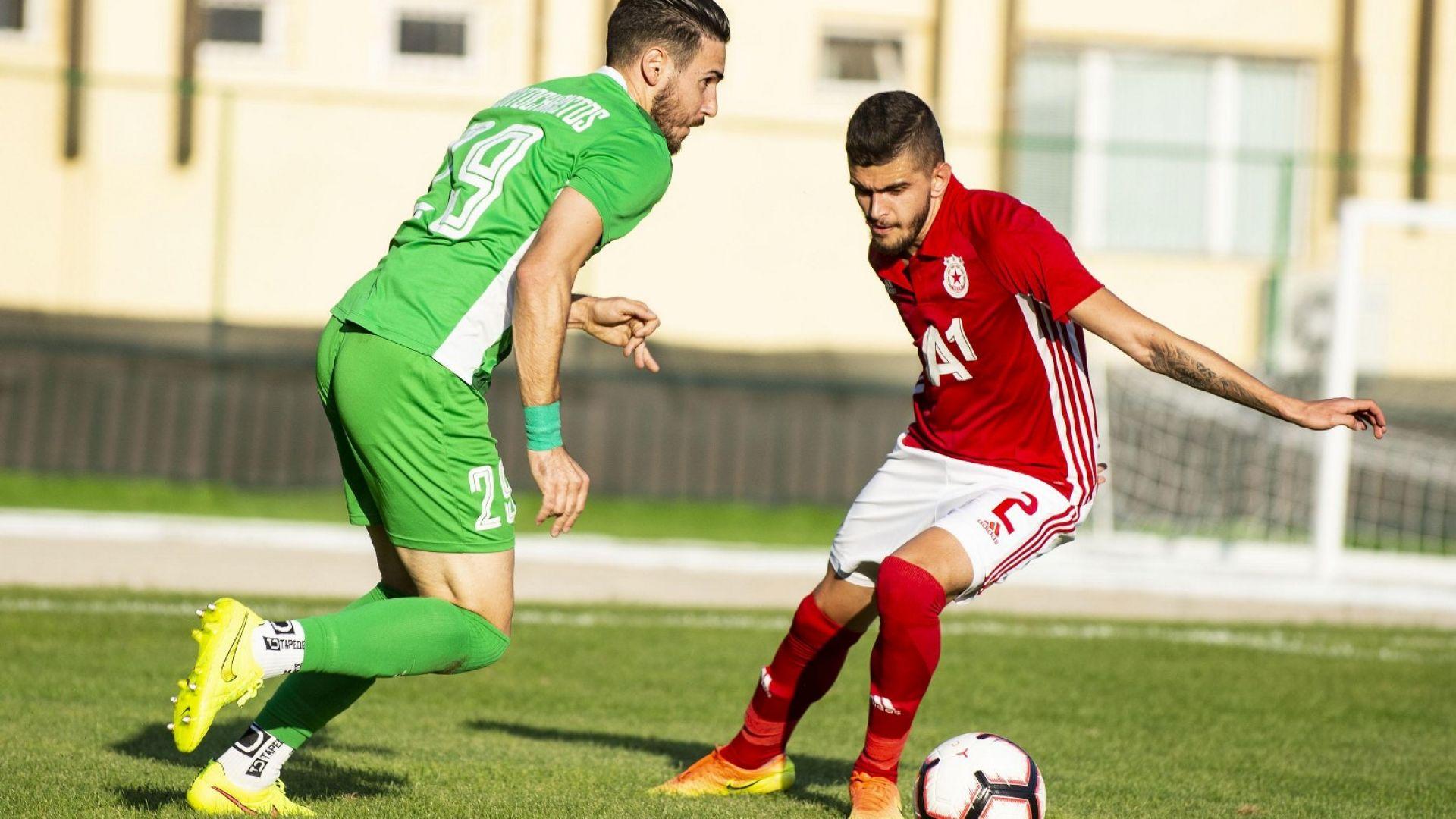 Левски и ЦСКА постигнаха победи в контролни срещи