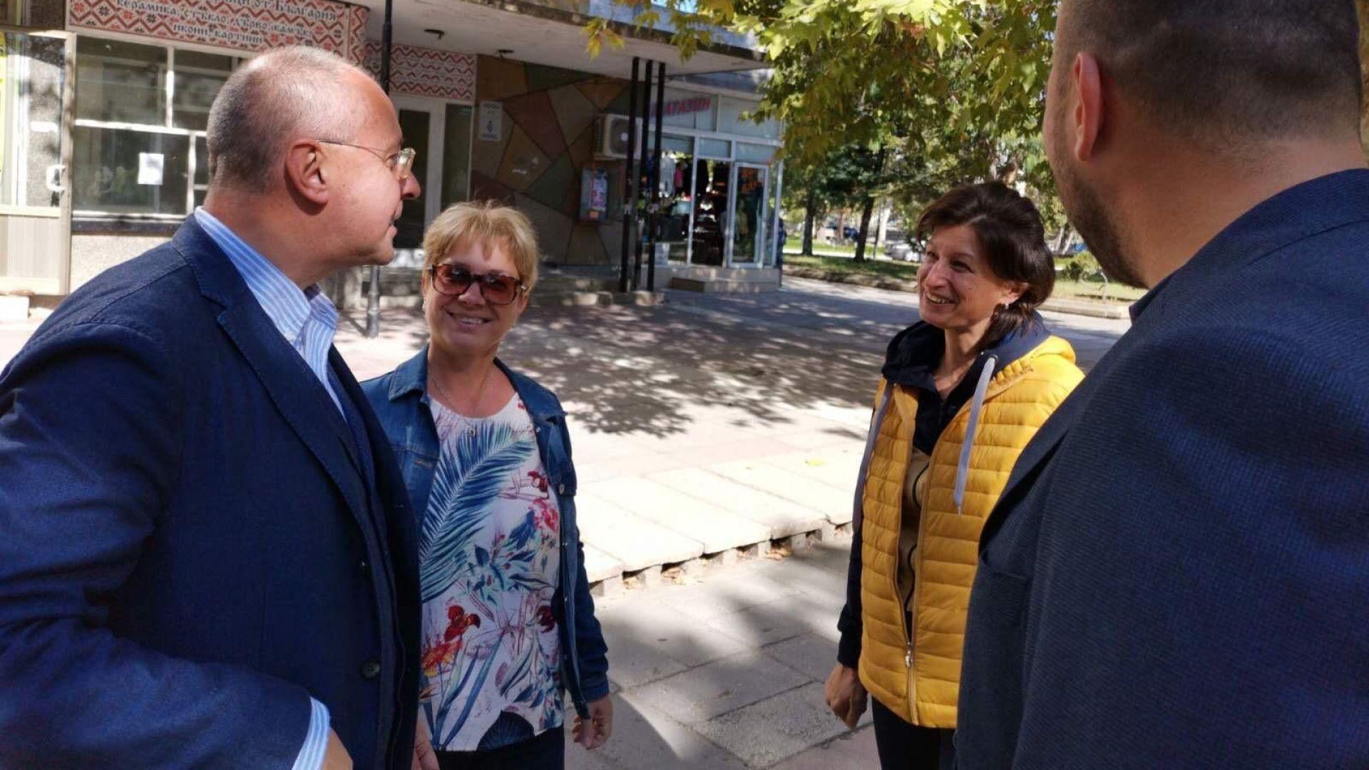 Станишев в Шумен: ГЕРБ са изчерпани, непростимо е да изпуснем шанса за историческа мисия