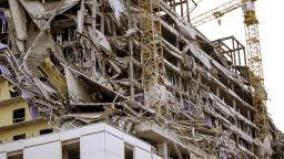 Срути се част от строящ се хотел в Ню Орлиънс, има жертви (снимки, видео)