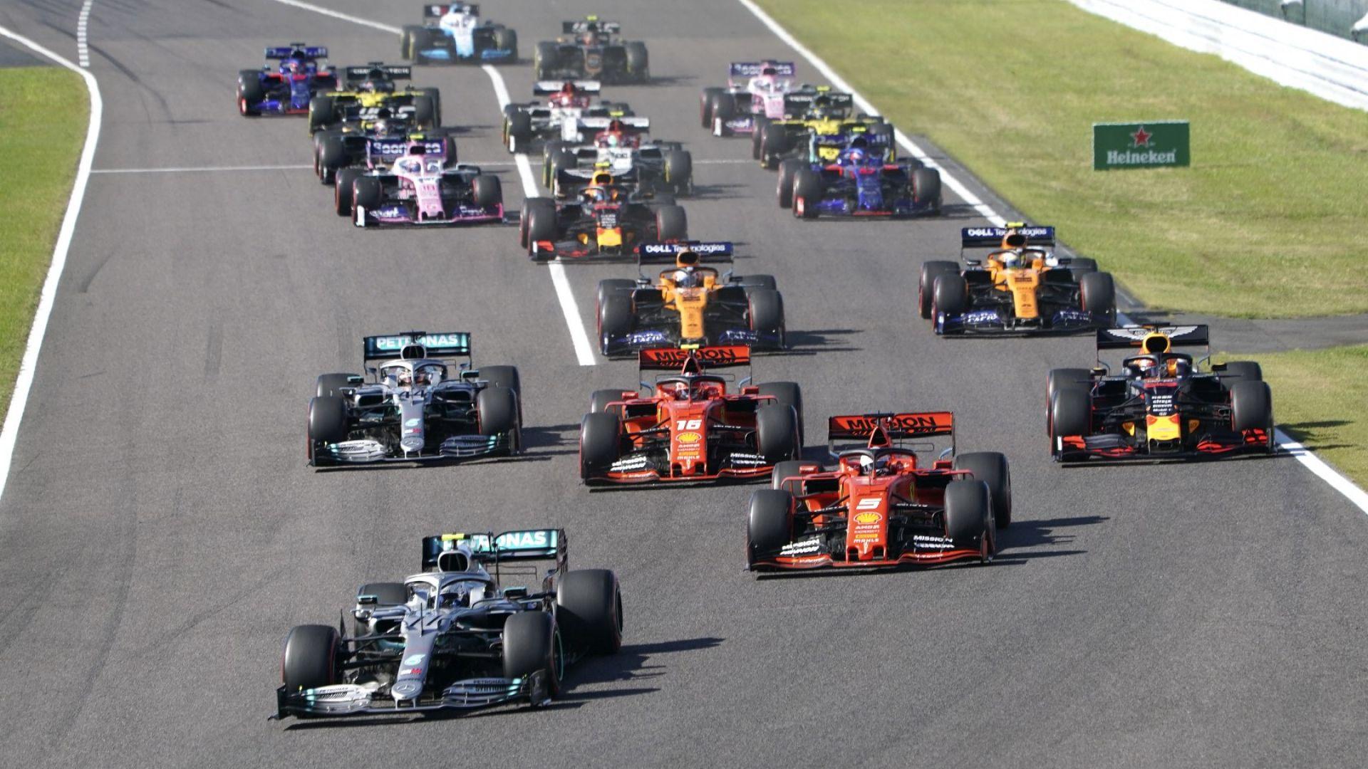 Забраниха работата по нови болиди във Формула 1