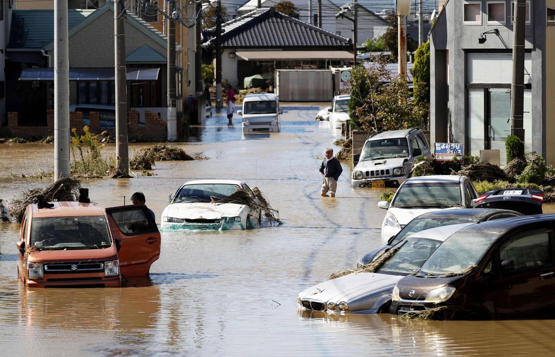 Япония след тайфуна