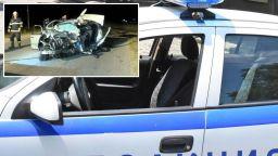 Камера заснела зловещия челен удар, взел 6 жертви край Крън (видео)
