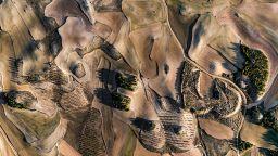 Въздушни пейзажи, които приличат на картини на абстракционист