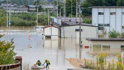 Десетки загинали и изчезнали вследствие на тайфуна Хагибис
