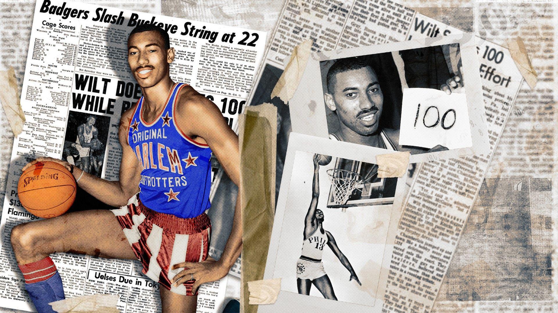 Голиат сред простосмъртни  - Уилт Чембърлейн бе първата суперзвезда на NBA