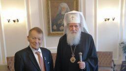 Патриарх Неофит се срещна  с предприемача Игнат  Канев