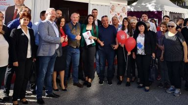 Станишев в Пловдив: ГЕРБ са изчерпани, а ВМРО се правят на алтернатива