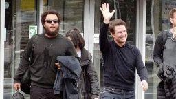 Том Круз се появи заедно със сина си в Лондон