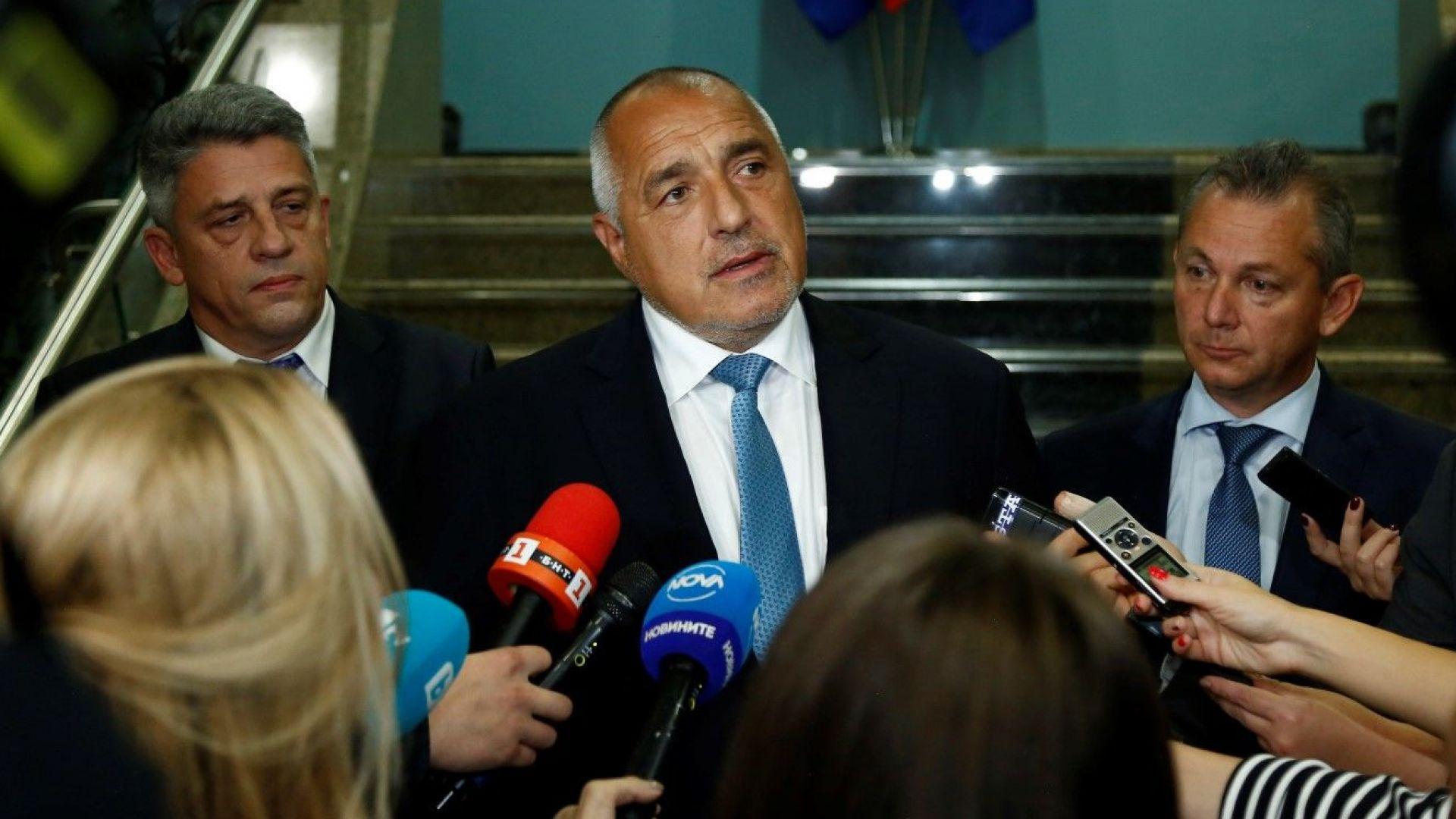 Премиерът Борисов свиква извънредно Съвет по сигурността
