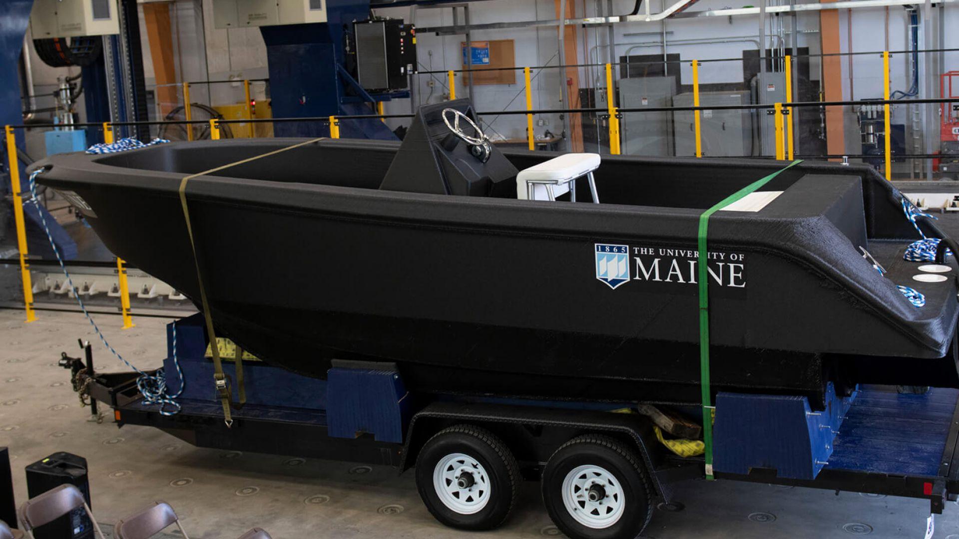 Създадоха цяла лодка с 3D принтер