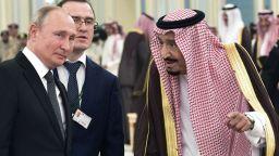 Путин в Саудитска Арабия с 200-членна делегация (снимки и видео)