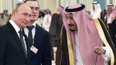 Путин пристигна в Рияд с 200-членна делегация  (снимки и видео)