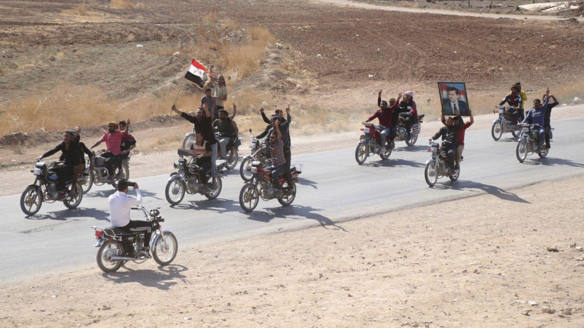 Сирийската армия влезе тази вечер в северния град Манбидж в