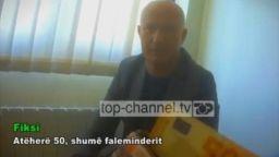 Албанска телевизия засне македонски зам.-министър да взима подкуп (видео)