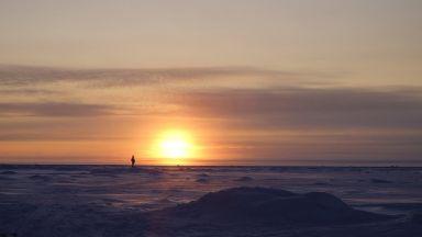 Плаващият лед е рекордно малко в Чукотско и  Берингово море