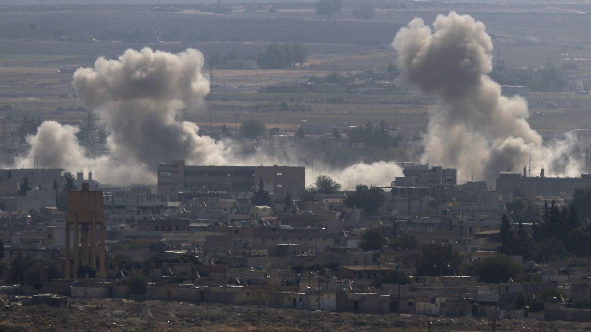 Предвожданите от кюрдите Сирийски демократични сили (СДС) са си върнали