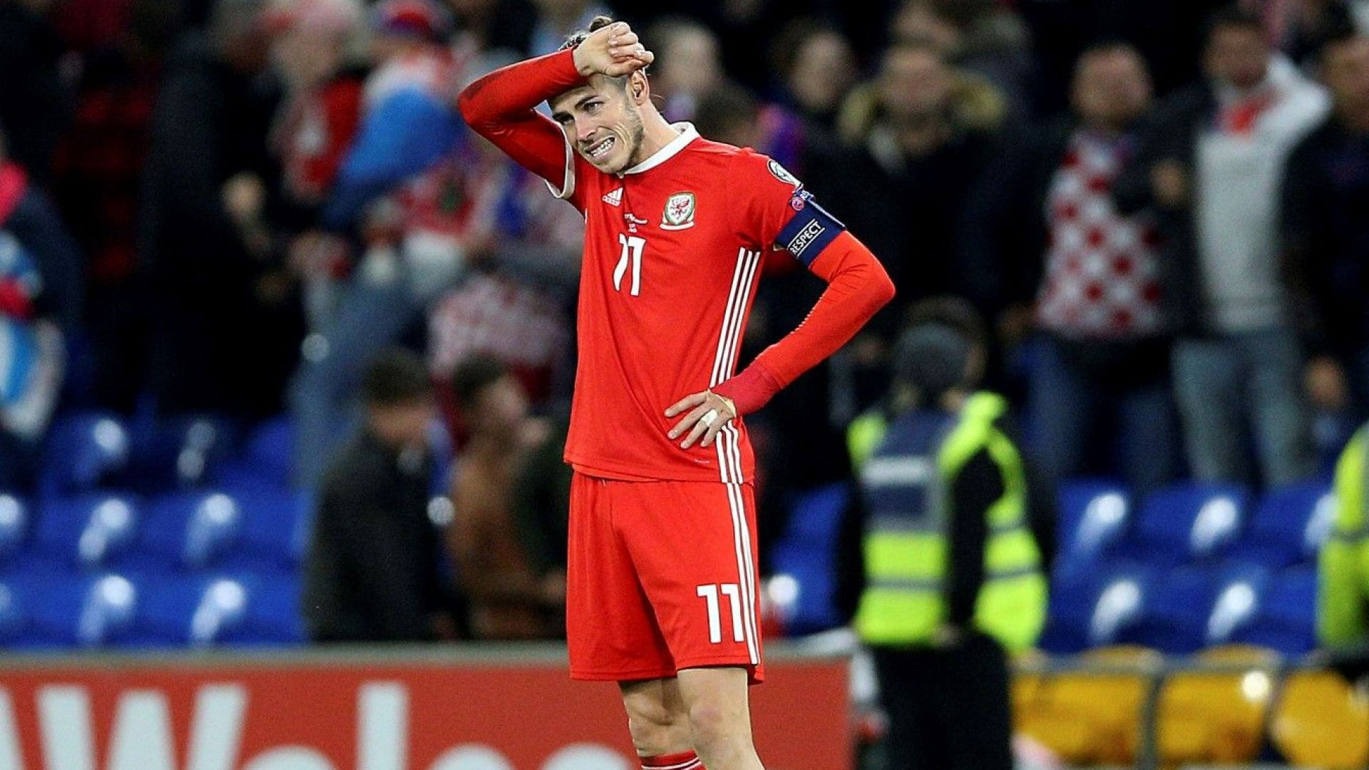 Отритнатият Гарет Бейл попадна в състава за мача срещу България