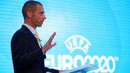 Шефът на УЕФА: Европа ни подкрепи срещу Суперлигата, получих 3800 съобщения