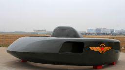 Китай създаде летяща чиния