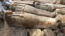 Археолози откриха 20 древни ковчега в Луксор (снимки)