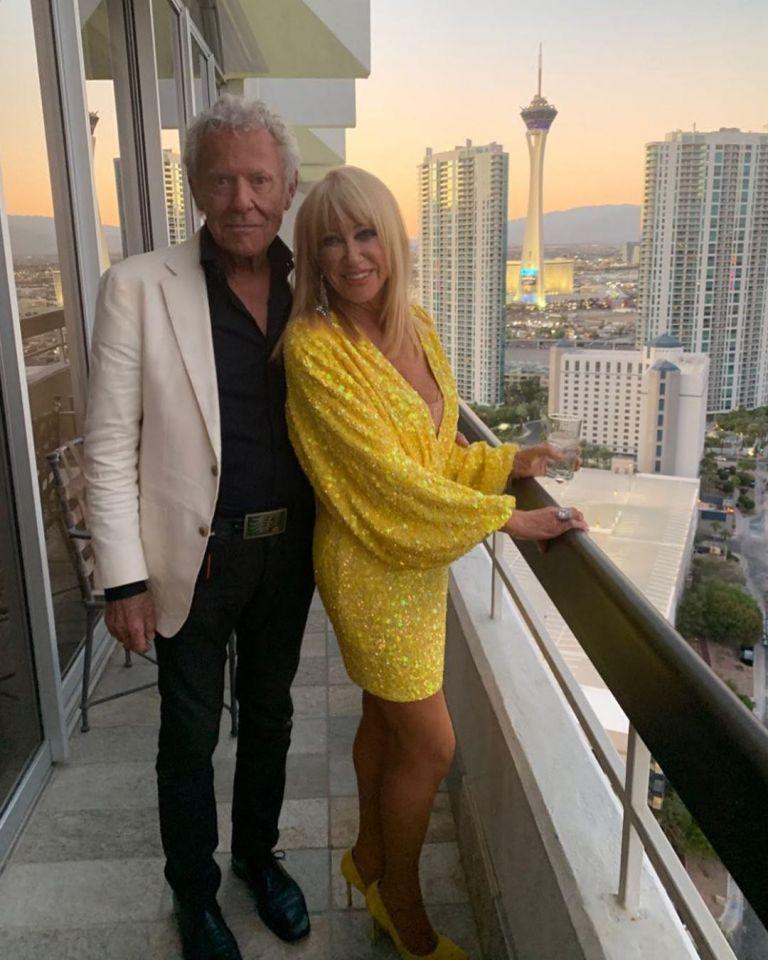 Сюзън Самърс със съпруга си Алън Хамъл