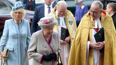 Кралицата отбеляза 750-тата годишнина на Уестминстърското абатство