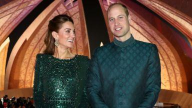 Принц Уилям и Кейт очароваха Пакистан на бляскав прием