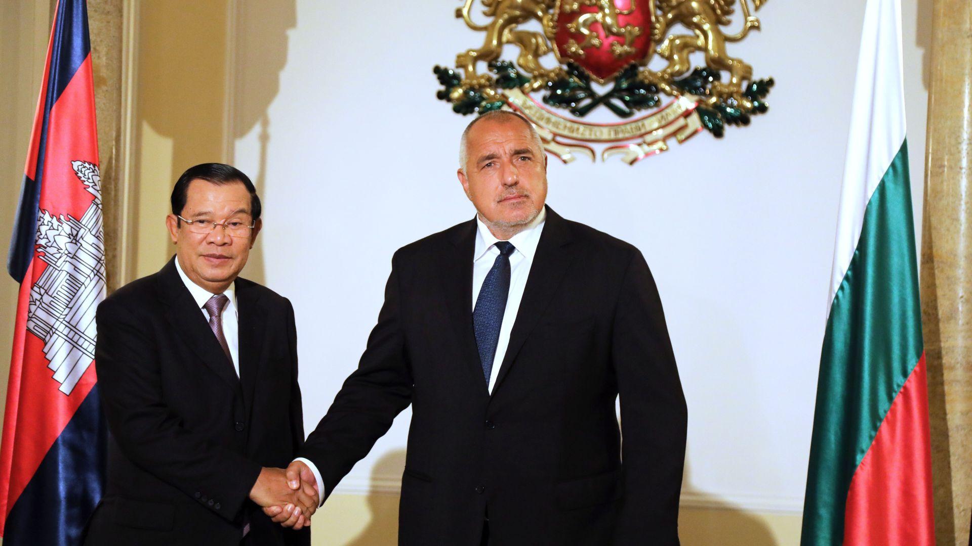 Борисов: Камбожда ще възстанови посолството си в София