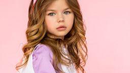 Момиченце на 6 години от Русия е най-красивото дете