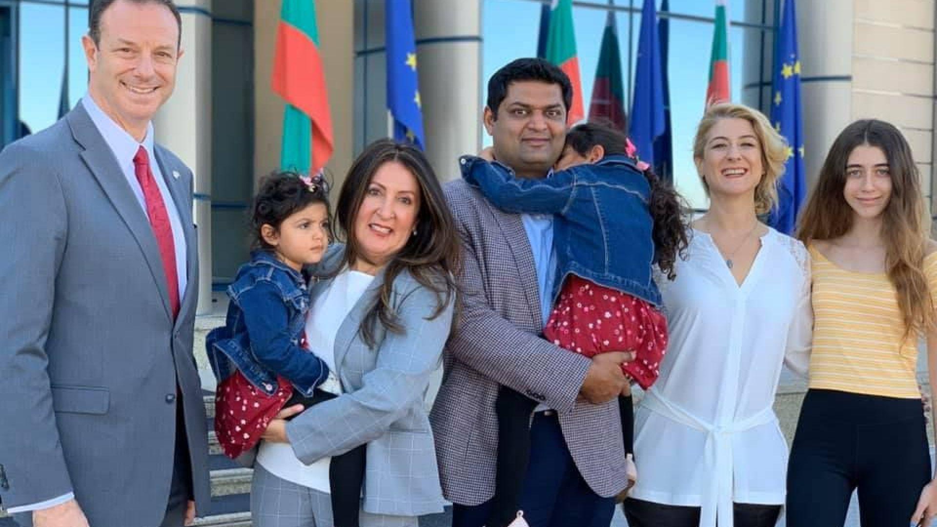 Новият посланик на САЩ в България положи клетва и пристигна у нас (снимки)