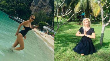 Горещата синоптичка Ева Кикерезова нажежи тайландските плажове