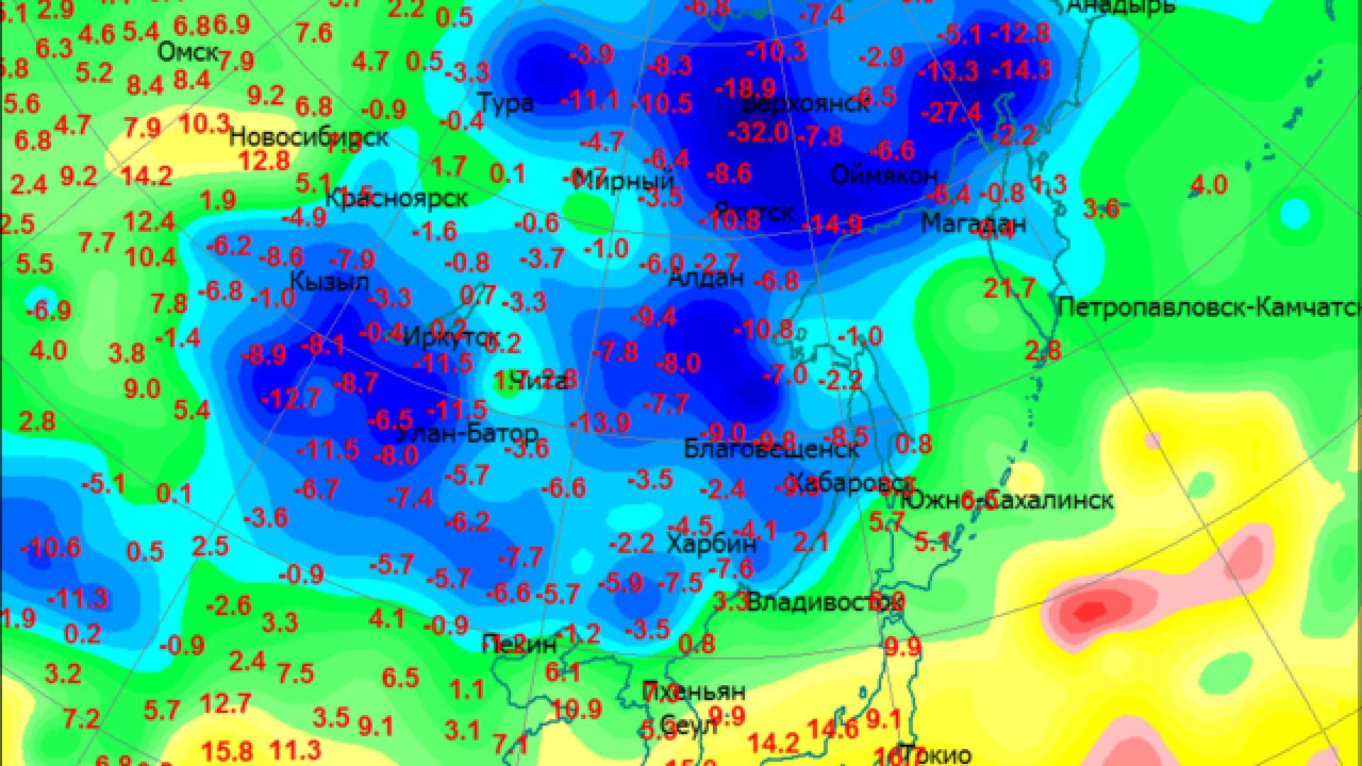 Първи минус 30 градуса в Русия, есента неумолимо напредва и у нас