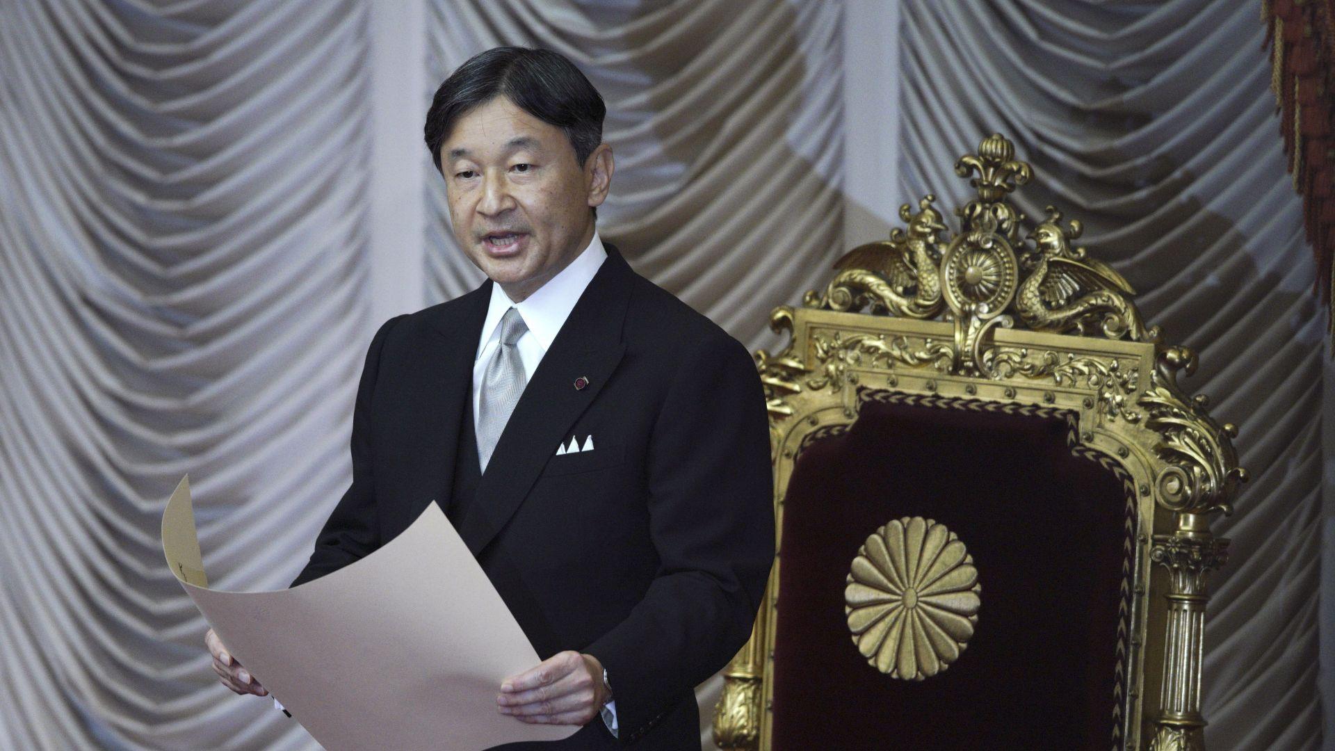 Парадът по случай възкачването на престола на новия японски император