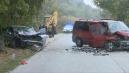Челен сблъсък край Варна отне живота на жена, четирима са ранени