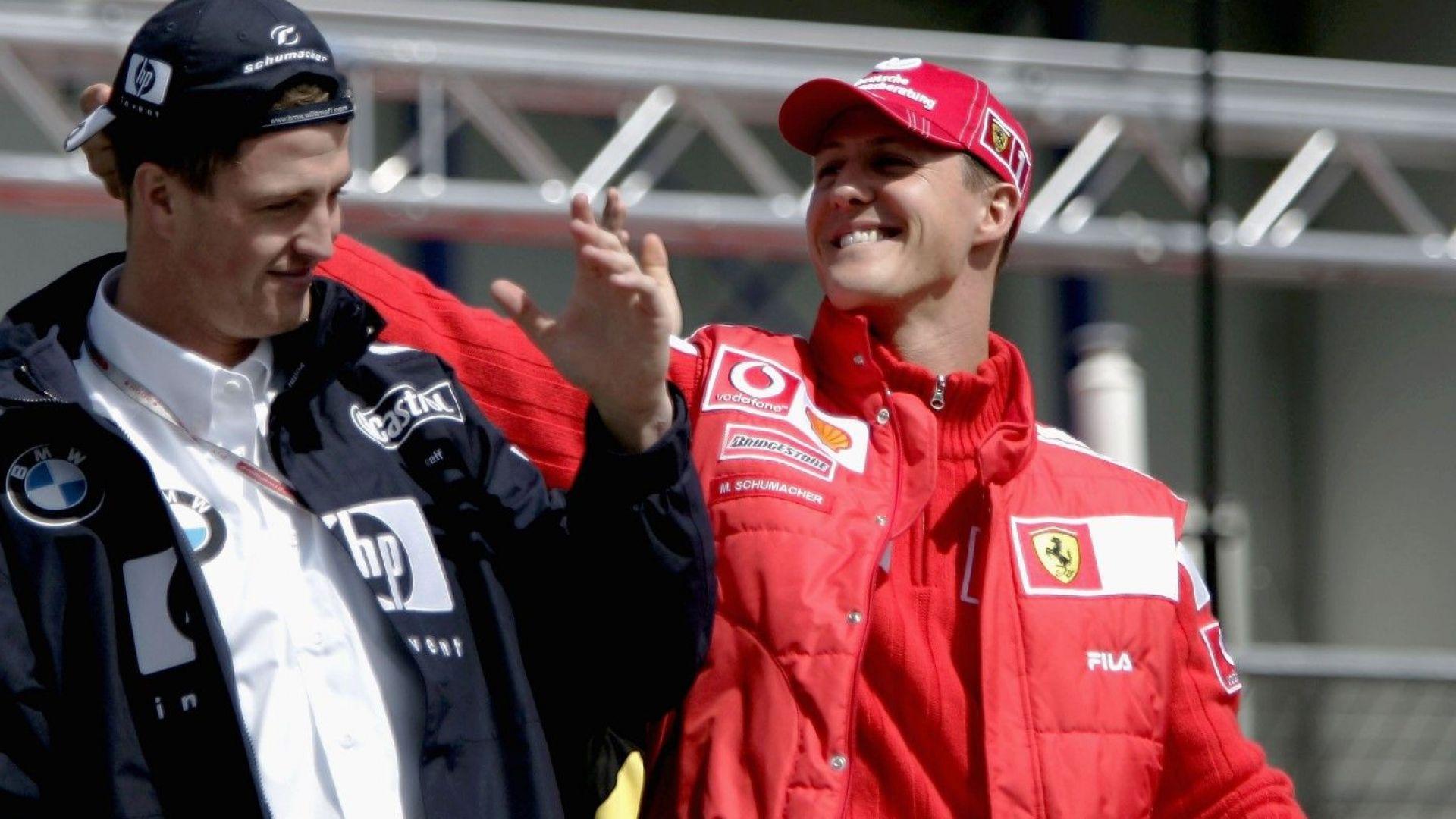 """Ралф Шумахер се ядоса на """"глупавите"""" сравнения между Мик и татко му"""