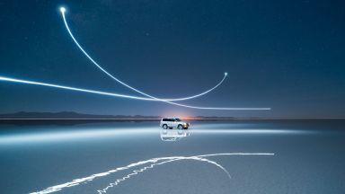 Мистерия и чудо, заснети с дрон и LED светлини