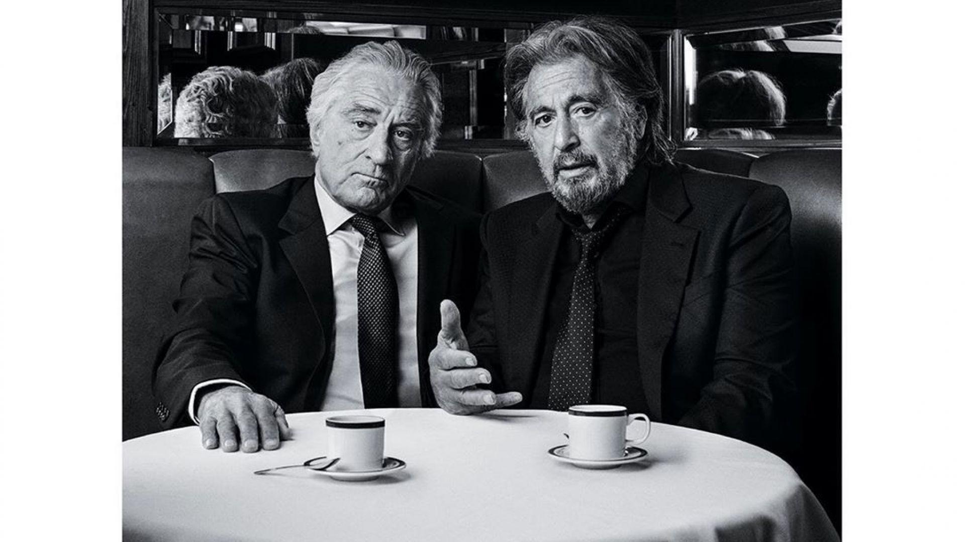 Ал Пачино и Робърт де Ниро се събраха в бара на Ралф Лорън