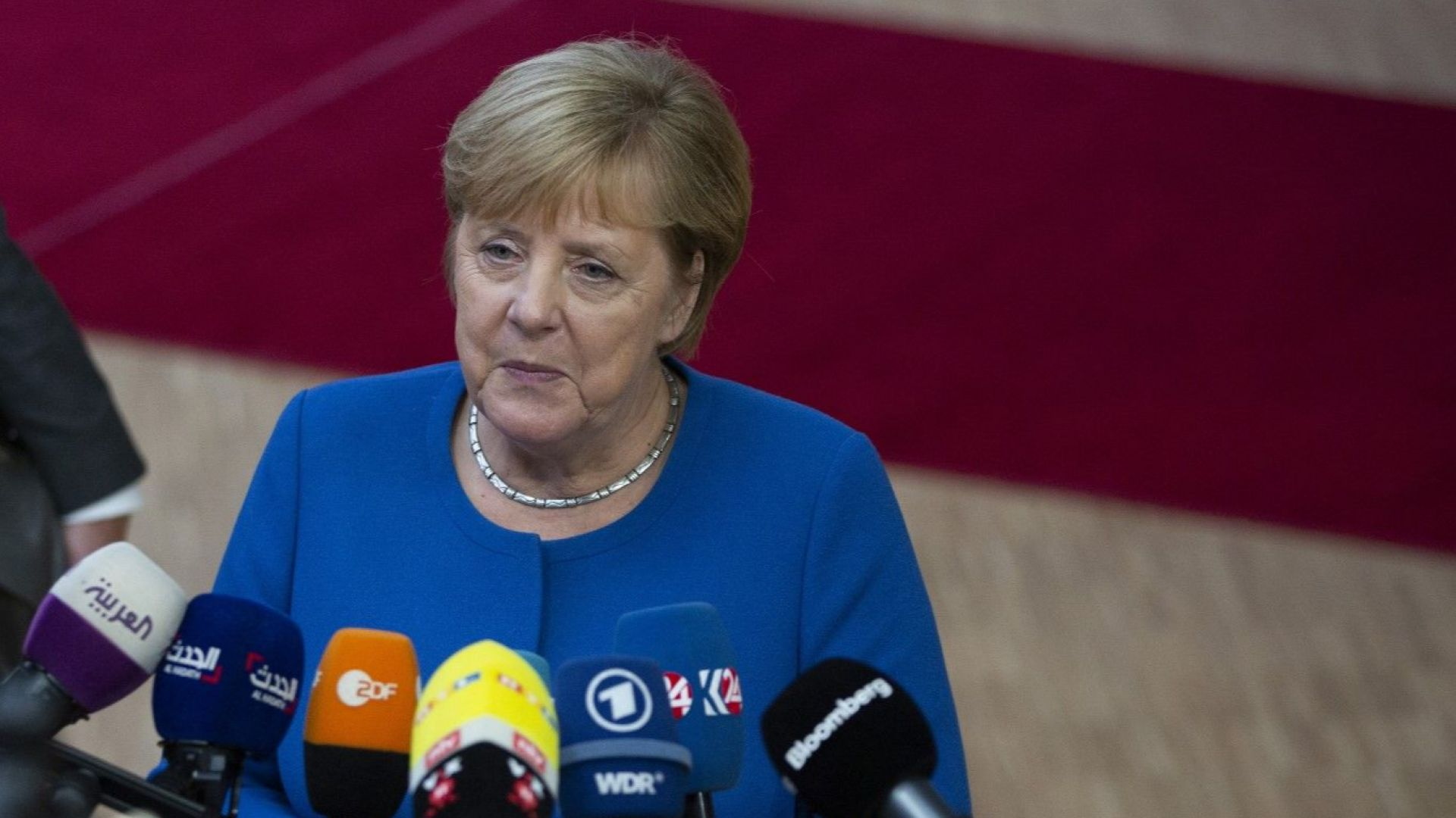 Ангела Меркел не споделя мнението на Еманюел Макрон за НАТО