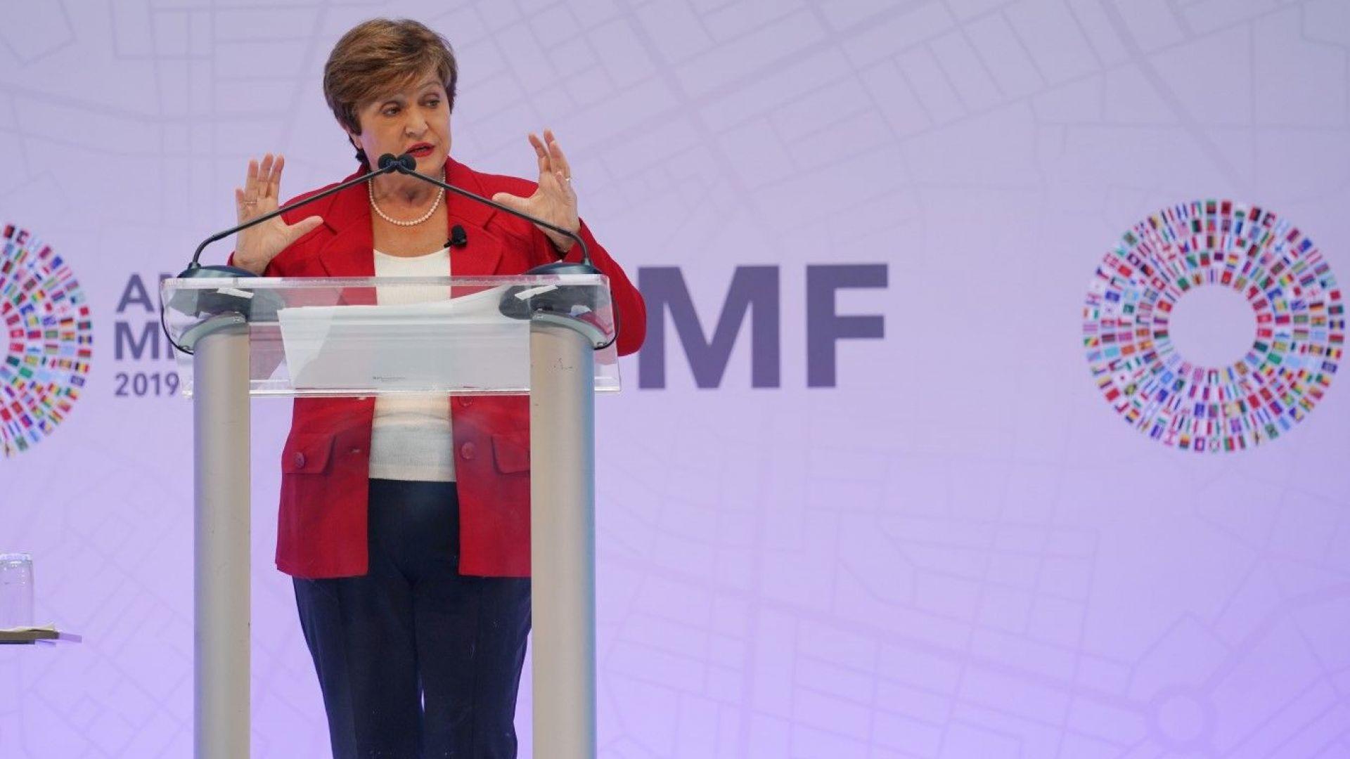 Кристалина Георгиева: Световната икономика е натрупала рекорден дълг,  което е опасно