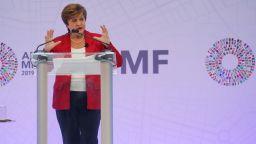 "Кристалина Георгиева заяви, че растежът ще ""дерайлира"" без търговски мир"